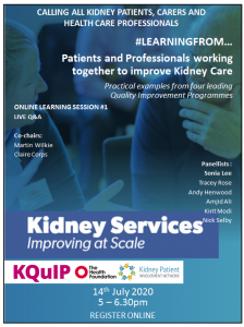KQuIP and KPIN Webinar Poster for 14 July 2020